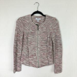 Barney's New York Tweed Tapered Blazer Size XS